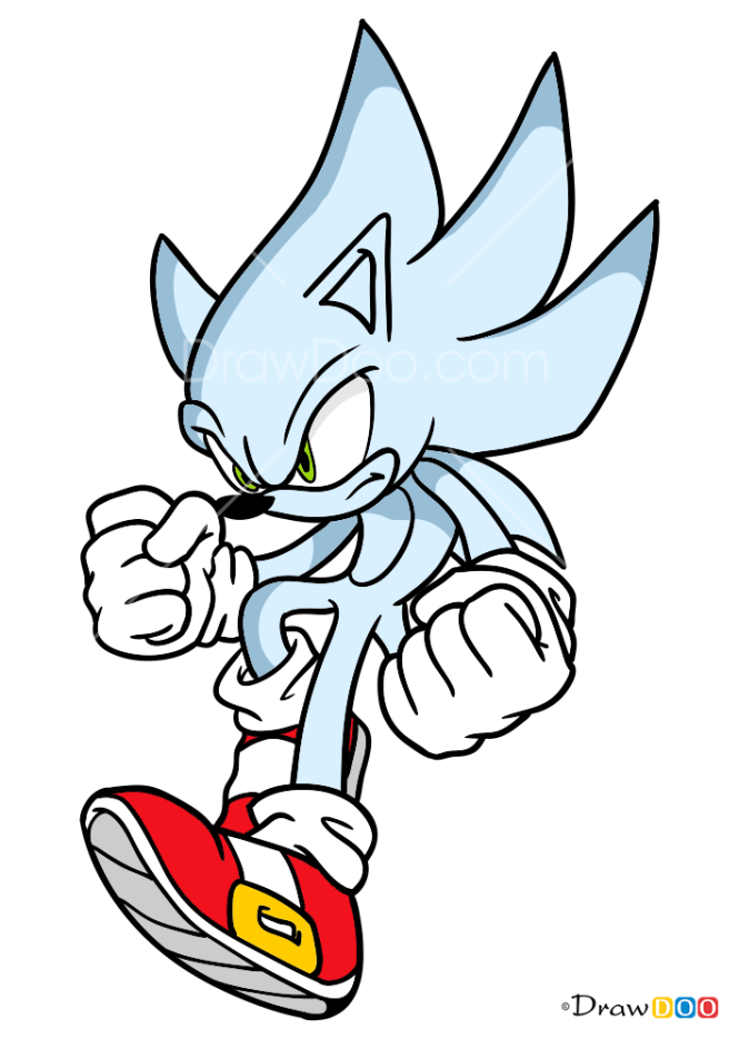How to Draw Hyper Sonik, Sonic the Hedgehog