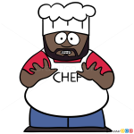 How to Draw Chef, South Park