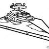 How to Draw Imperial Star Destroyer, Star Wars, Spaceships