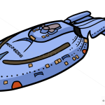How to Draw Voyager, Star Trek, Spaceships
