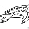 How to Draw White Star, Babylon 5, Spaceships