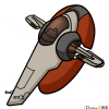 How to Draw Slave 1, Star Wars, Spaceships