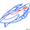How to Draw Protoss Carrier, StarCraft, Spaceships