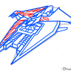 How to Draw Narn Heavy Cruiser, Babylon 5, Spaceships