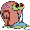 How to Draw Gary The Snail, Spongebob