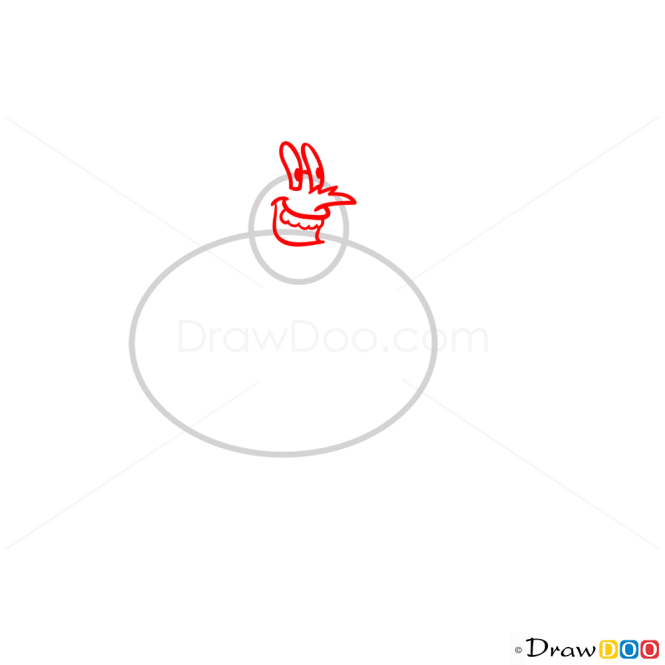 How to Draw Larry The Lobster, Spongebob