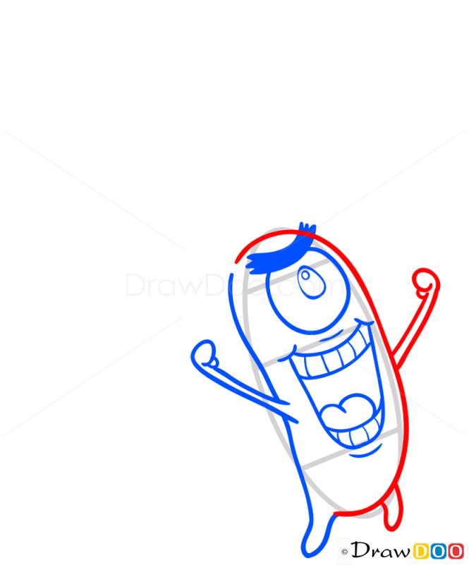 How to Draw Plankton, Spongebob