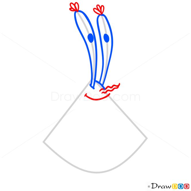 How to Draw Mr Krabs, Spongebob