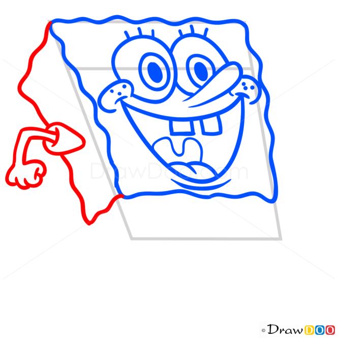 How to Draw Spongebob, Spongebob