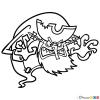 How to Draw The Flying Dutchman, Spongebob