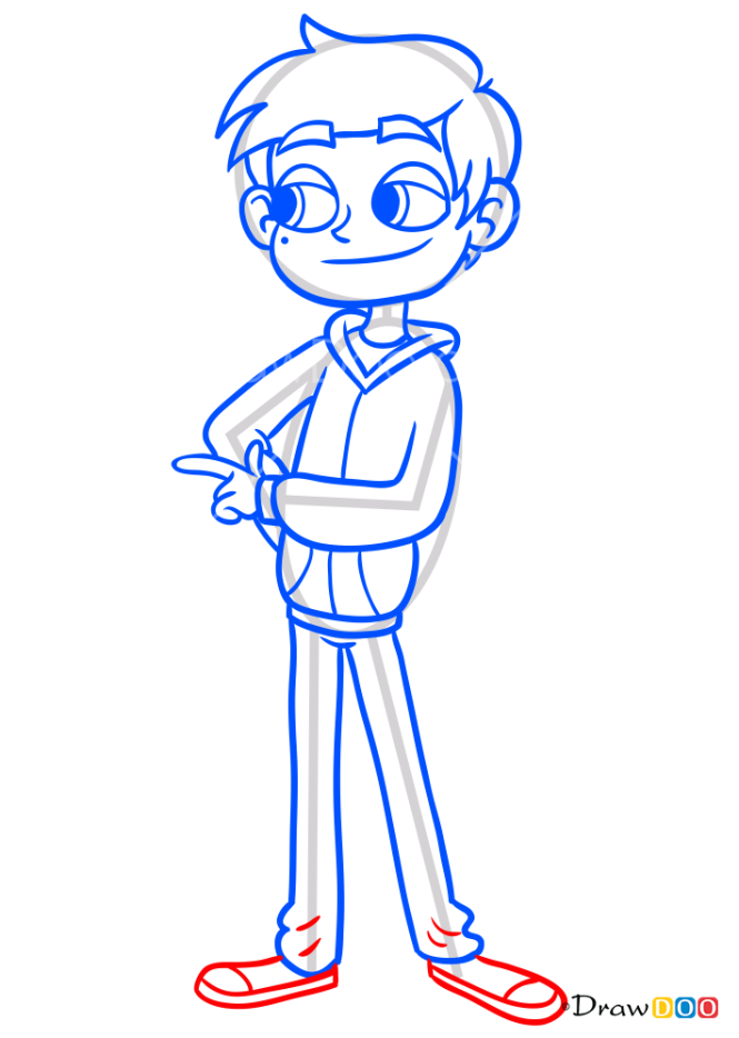 How to Draw Marco Diaz, Star vs. the Forces of Evil