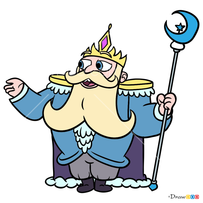 How to Draw King Butterfly, Star vs. the Forces of Evil