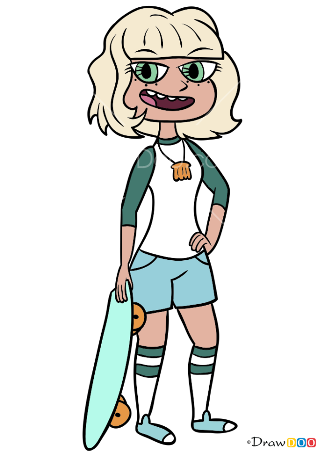 How to Draw Jackie Lynn Thomas, Star vs. the Forces of Evil