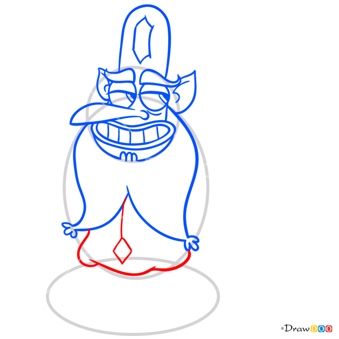 How to Draw Glossaryck, Star vs. the Forces of Evil
