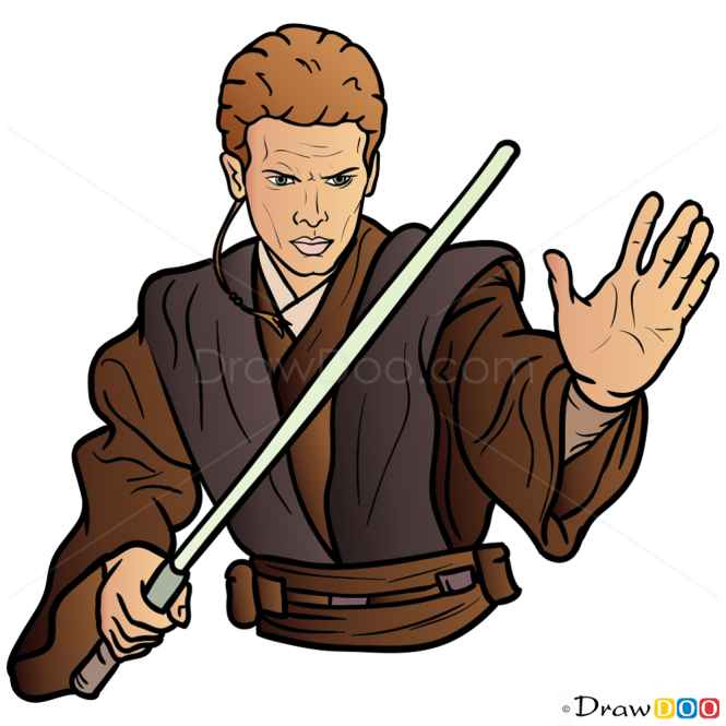 How to Draw Anakin Skywalker, Star Wars