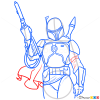 How to Draw Boba Fett, Star Wars
