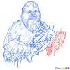 How to Draw Chewbacca, Star Wars