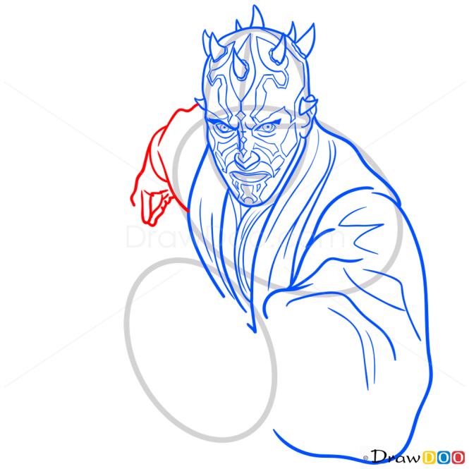 How to Draw Darth Maul, Star Wars