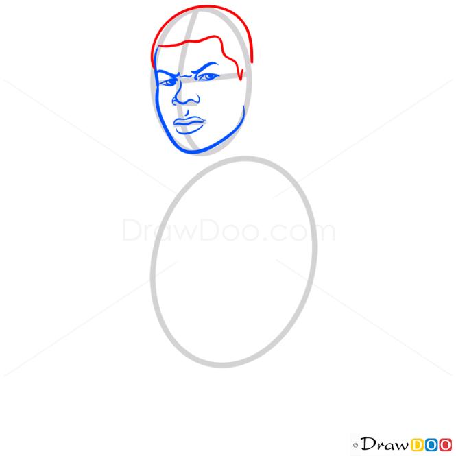 How to Draw Finn, Star Wars