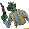 How to Draw Greedo, Star Wars