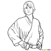 How to Draw Luke Skywalker, Star Wars