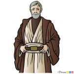How to Draw Obi Wan, Star Wars