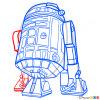 How to Draw R2-D2, Star Wars