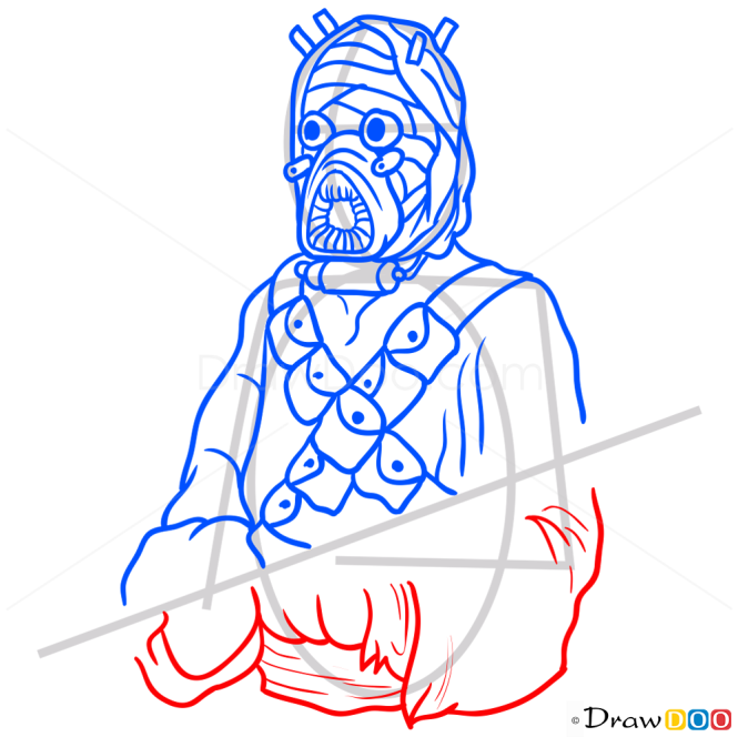 How to Draw Tusken Raider, Star Wars