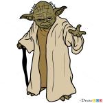 How to Draw Yoda, Star Wars