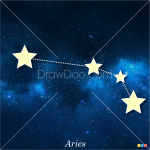 How to Draw Aries, Constellations