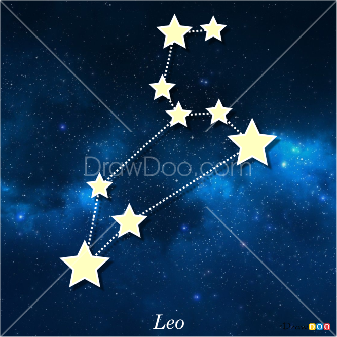 How to Draw Leo, Constellations