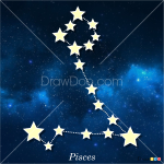 How to Draw Pisces, Constellations