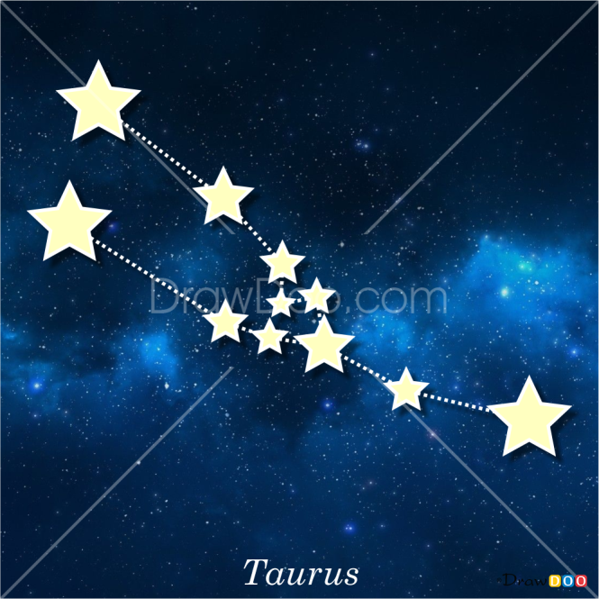 How to Draw Taurus, Constellations