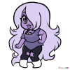 How to Draw Chibi Amethyst, Steven Universe