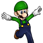 How to Draw Luigi, Super Mario