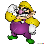 How to Draw Wario, Super Mario