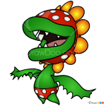 How to Draw Petey Piranha, Super Mario