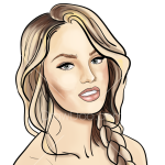 How to Draw Candice Swanepoel, Supermodels