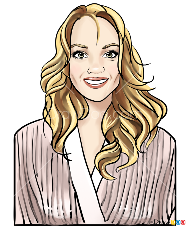How to Draw Lindsay Ellingson, Supermodels