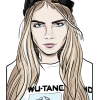 How to Draw Cara Delevingne, Supermodels
