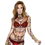How to Draw Alessandra Abrosio, Supermodels