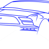 How to Draw Ford GT, Supercars