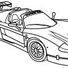 How to Draw Maserati MC12, Supercars