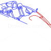 how to draw a supercar step by step
