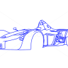 How to Draw BAC Mono, Supercars