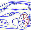 How to Draw Koenigsegg Agera R, Supercars