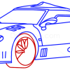 How to Draw Spyker C8, Supercars