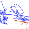 How to Draw Mercedes-Benz SLR McLaren, Supercars