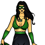 How to Draw Green Lamp Girl, Superheroes Women