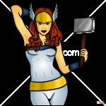 How to Draw Hammer Queen, Superheroes Women
